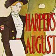Harpers August 1897 Poster