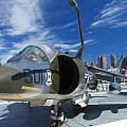 Harrier At Interpid Museum Poster