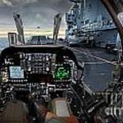 Harrier Cockpit Poster