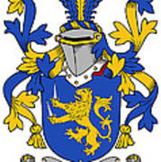 Hartigan Coat Of Arms Irish Poster