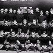 Harvard Football 1912 Poster