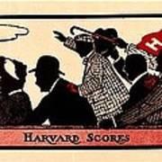 Harvard Scores 1905 Poster