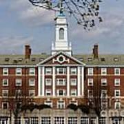 Harvard University Moors Hall Poster