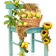 Harvest Fayre Poster by Amanda Elwell