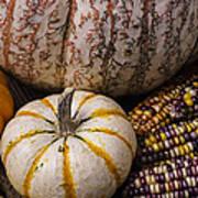 Harvest Still Life Poster