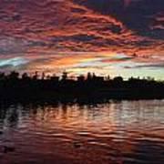 Harveston Sunset Poster