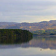 Harveys Point On Lough Eske Panorama Poster