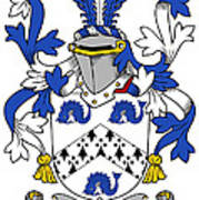 Hassett Coat Of Arms Irish Poster