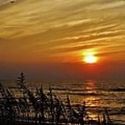 Hatteras Island Sunrise 1 7/31 Poster