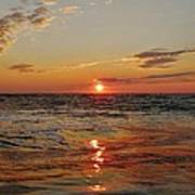 Hatteras Island Sunrise 2 7/30 Poster