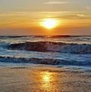 Hatteras Island Sunrise 9 8/28 Poster