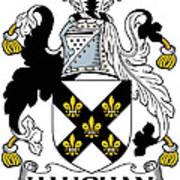 Haughan Coat Of Arms Irish Poster