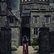 Haunted House Poster by Joana Kruse