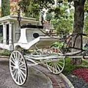 Haunted Mansion Hearse New Orleans Disneyland Poster