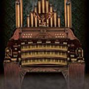 Haunted Pipe Organ Poster