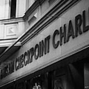 haus am checkpoint charlie museum Berlin Germany Poster by Joe Fox