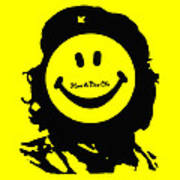Have A Nice Che Guevara Poster