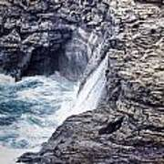 Hawaii Big Island Coastline V2 Poster