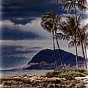 Hawaii Big Island Coastline V3 Poster