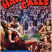 Hawaii Calls, Us Poster Art, Ned Poster