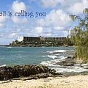 Hawaii Is Calling Poster