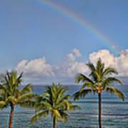 Hawaii Rainbow Poster