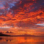 Hawaii Sunrise Poster