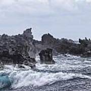 Hawaii Waves V1 Poster