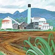 Hawaiian Sugar Mill Poster