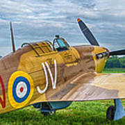 Hawker Hurricane 7d08c Poster