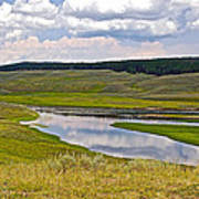 Hayden Valley In Yellowstone National Park-wyoming Poster