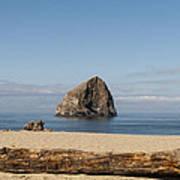 Haystack Rock 2 - Pacific City Oregon Coast Poster