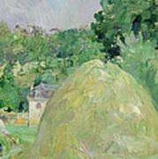 Haystacks At Bougival Poster