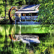 Haywood Cc Grist Mill Poster