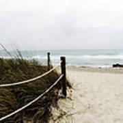 Hazy Beach Day Poster by Julie Palencia