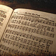 He Set Me Free - Hymnal Song Poster