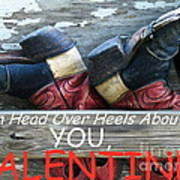 Head Over Heels Valentine Poster