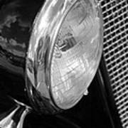 headlight205 BW Poster