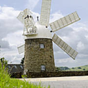 Heage Windmill Poster