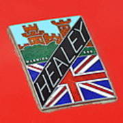 Healey Silverstone D Type Poster