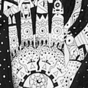 Healing Patterns I Poster