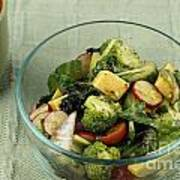 Healthy Mixed Salad Poster