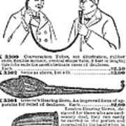 Hearing Aid, 1900 Poster