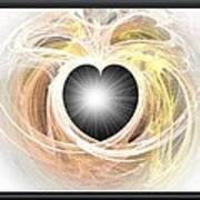 Heart N Soul Fractal Poster