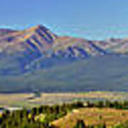 Heart Of The Sawatch Panoramic Poster