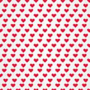 Heart Patterns Poster