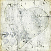 Hearts 13 Square Poster