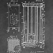 Heater Patent Poster