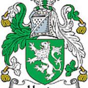 Heaton Coat Of Arms Irish Poster