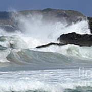 Heavy Surf Action Fernando De Noronha Brazil 1 Poster